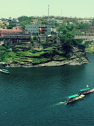 Ujjain - Ujjain City on the banks of Kshipra River