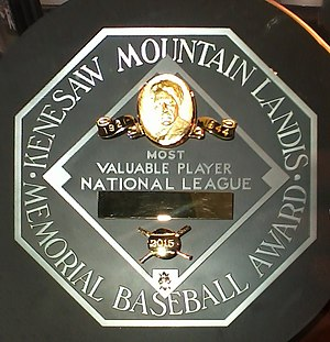 Major League Baseball Most Valuable Player Award - The Most Valuable Player award