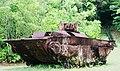 National Historic landmark Island of Peleliu US LVT landing assault vehicle from the battle in 1944.jpg