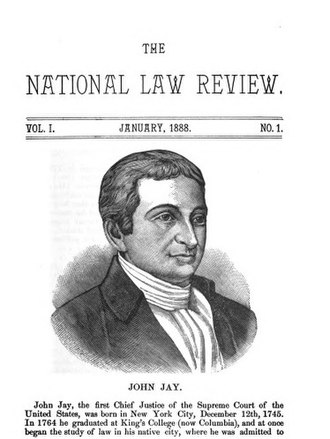 The National Law Review - The National Law Review Vol. I, No. 1, January 1888