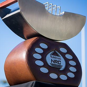 National Rugby Championship - NRC winner's trophy, nicknamed 'The Toast Rack'.