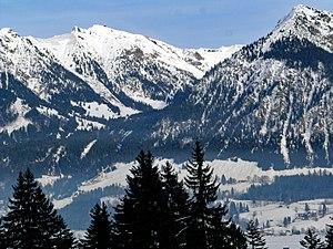 Oberstdorf - The Nebelhorn, Oberstdorf's local mountain