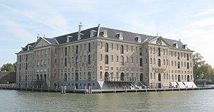 Nederlands Scheepvaartmuseum - 's Lands Zeemagazijn in 2007
