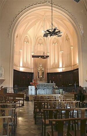 Église Saint-Ferréol les Augustins - Image: Nef des Augustins
