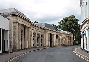 Market Hall, Monmouth - The Market Hall, now the home of Monmouth Museum