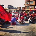Nepali Bandh Protesters.JPG
