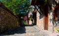 Nessebar - Old Town Stone Wall Passage (40681103284).png