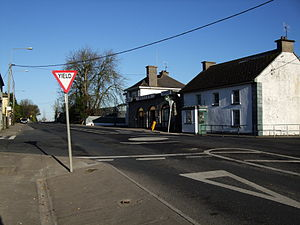 New Inn, County Tipperary - The R639 (i.e. the former N8) through New Inn.