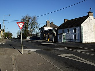 New Inn, County Tipperary - The R639 (i.e. the former N8) through New Inn.