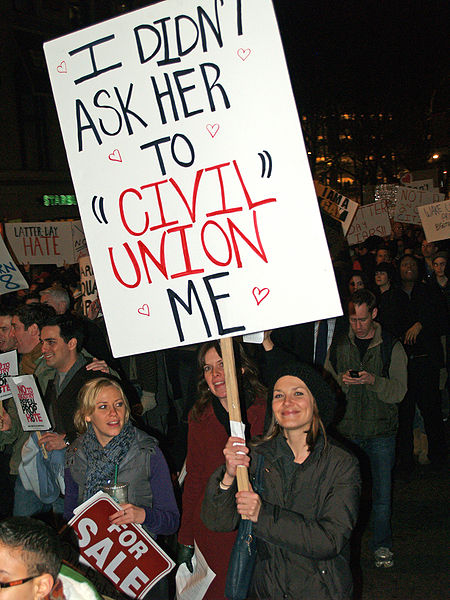 File:New York City Proposition 8 Protest outside LDS temple 20.jpg