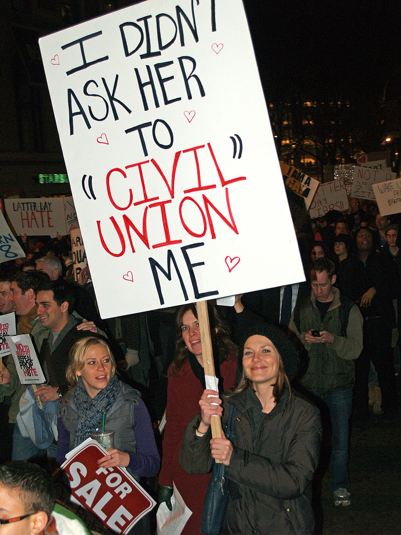 New York City Proposition 8 Protest outside LDS temple 20.jpg