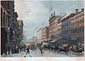 New York winter scene in Broadway, by Paul Girardet after Hippolyte-Victor Sebron.jpg