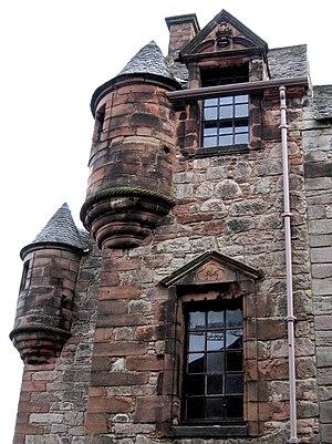Turret - Image: Newark Castle turrets