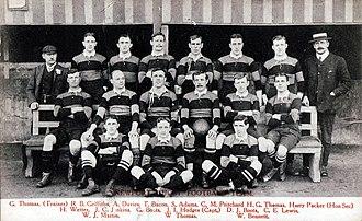 Newport RFC - The 1904–05 team
