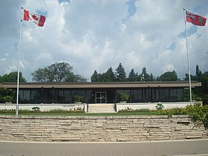 Niagara Parks School of Horticulture - The school building as seen in 2010.