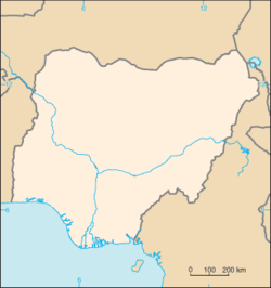 Calabar is located in Nigeria