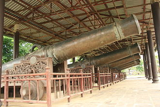 Military history of Vietnam - Nine Holy Cannons of Nguyen Dynasty