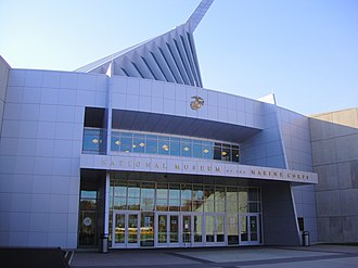 Prince William County, Virginia - The National Museum of the Marine Corps in November 2010.