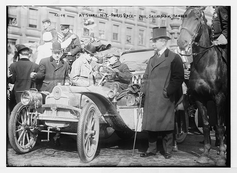File:No Known Restrictions New York - Paris race drivers from the Bain Collection, 1908 (LOC) (489345096).jpg
