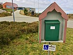 Nordsjøfartmuseet i Tælavåg (North Sea Traffic Exhibition), Telavaag, Sotra, Norway 2017-10-23 c mail box.jpg