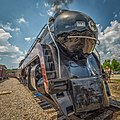 Norfolk & Western Steam in 2015! Lynchburg, Virginia to Petersburg, Virginia. All day excursion on 13 June 2015. Two-hour layover in Petersburg. No. 611 was one of fourteen Class 'J' passenger (18176921734).jpg