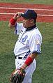 Norihiro Nakamura, infielder of the Yokohama BayStars, at Yokohama Stadium.jpg