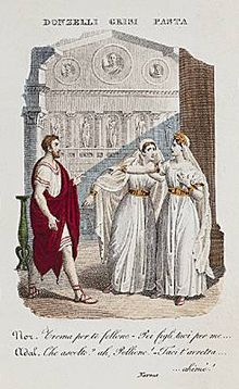 Norma: Donzelli, Grisi, and Pasta, the original cast (Source: Wikimedia)