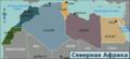North Africa regions map (ru).png