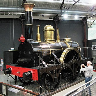 2-2-2 - Great Western Railway North Star at Swindon