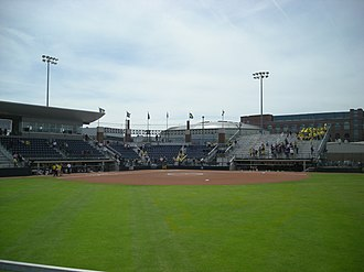 Michigan Wolverines softball - Alumni Field, the home of the Michigan Wolverines softball team