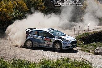Ford Fiesta WRC - Image: O. Tanak R. Molder (18061428096)