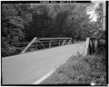 OBLIQUE OVERALL VIEW FROM NORTH - North Carolina Route 1334 Bridge, Spanning Deep River, Jamestown, Guilford County, NC HAER NC,41-JAMTO.V,2-2.tif