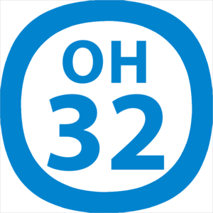 Ebina Station - Image: OH 32 station number