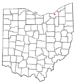 Location of Newburgh Heights in Ohio