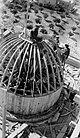 "ONE OF THE Y.M.C.A.'S DOMES DURING ITS CONSTRUCTION. בניית כיפת המגדל של בניין ימק""א בירושלים.D635-095.jpg"