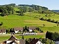 Oberharmersbach, Triebwagen der SWEG zwischen Riersbach und Oberharmersbach-Dorf 2.jpg
