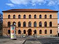 Oberlandesgericht Celle, Schloßplatz 2, Front Aufschrift Ernst August König 1840.JPG