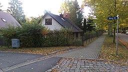 Odessaer Straße in Glienicke (Nordbahn)
