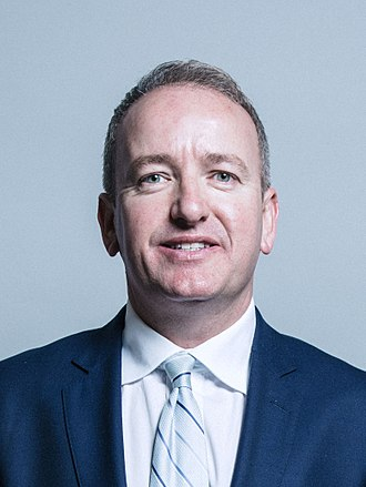 Mark Pritchard (politician) - Image: Official portrait of Mark Pritchard crop 2