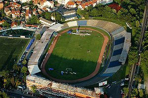 Omladinski stadion - Image: Ofk Belgrade stadion.OFK