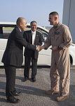 Ogasawara Village officials visit Osprey pilots, tour MCAS Futenma 140929-M-BX631-010.jpg