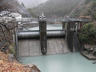 Ōigawa Dam dam in Shizuoka Prefecture, Japan
