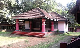 Kerala Kalamandalam - Old Campus now used as the P.G.campus