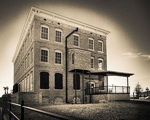 Ybor City - Old cigar factory in Ybor City
