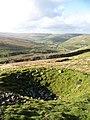 Old mine shaft on Satron Moor - geograph.org.uk - 1023610.jpg