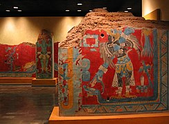 Olmeca-Xicalana murals from Cacaxtla
