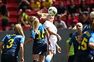 Olympic Games 2016 match between the women's teams of the United States - Sweden. 07.jpg
