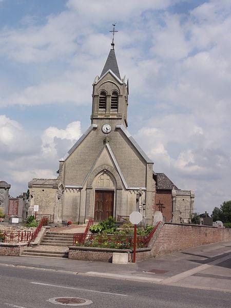 Omissy (Aisne) église