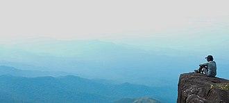 Pushpagiri (mountain) - A moment to rejoice far upon the mountains of Pushpagiri