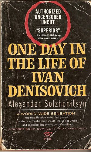 English: U.S. paperback cover of One Day in th...